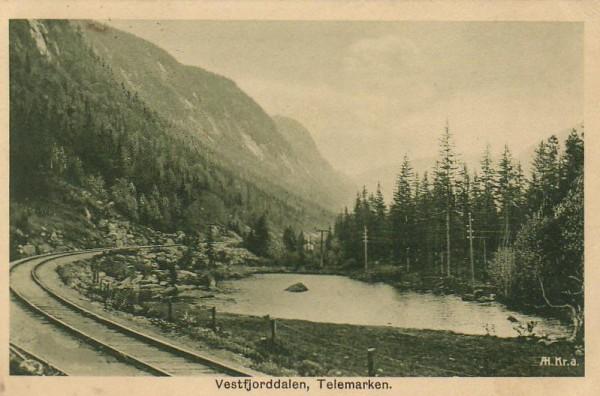 Vestfjorddalen, Telemark