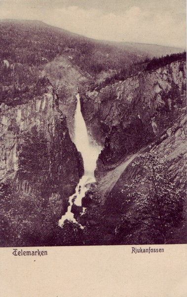 Telemarken Rjukanfossen
