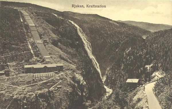 Rjukan, Kraftstation