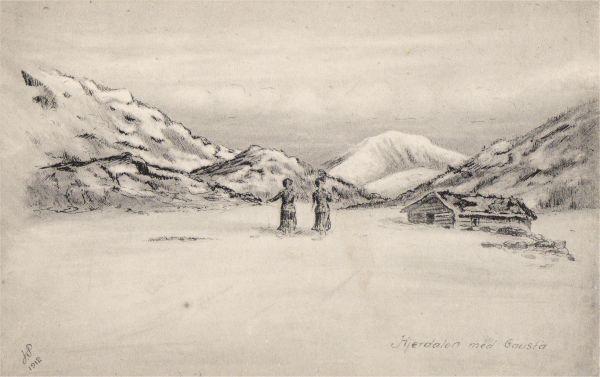 Hjerdalen med Gausta
