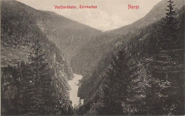 Vestfjorddalen, Telemarken Norge